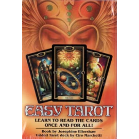 Easy Tarot Deck & Book by Ellershaw & Marchetti