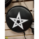 Pentagram Alchemy Gothic Leather Handbag