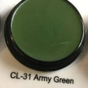 CL-31 Army Green Ben Nye Primary Creme Colors